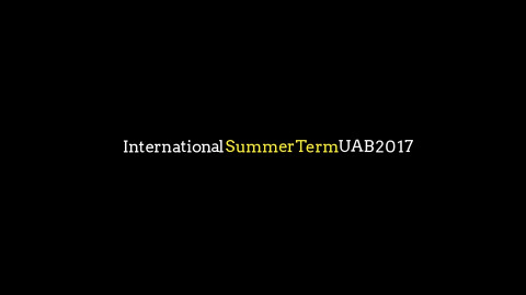 International Summer Term UAB 2017