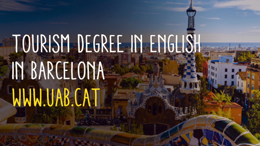 Ready to fly? Tourism degree in english in Barcelona