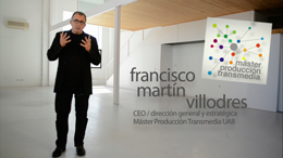Master's Degree in Transmedia Audiovisual Production