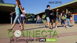 Connecta Abril 2019.